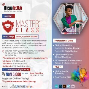 masterclass bootcamp 2